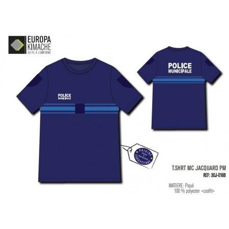 "Tee-shirt Police Municipale ""COOLFIT"""