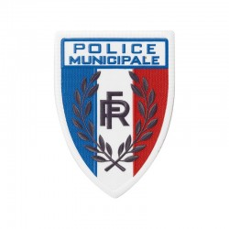 ÉCUSSON PLASTIQUE POLICE MUNICIPALE
