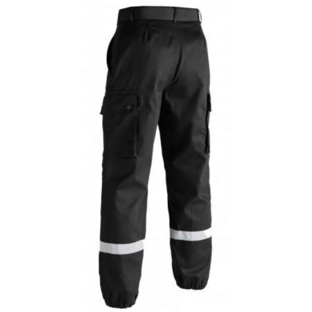 Pantalon F2 bandes rétro-réfléchissantes noir