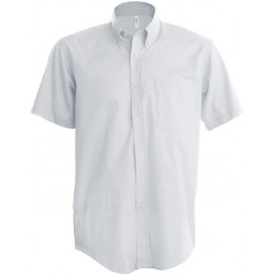 CHEMISE OXFORD MANCHES COURTES HOMME