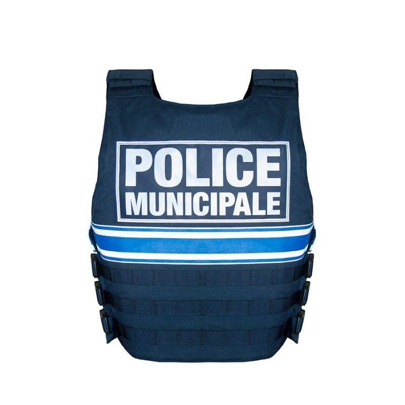 "GILET PARE-BALLES IIIA FULL TACTICAL ""POLICE MUNICIPALE"""