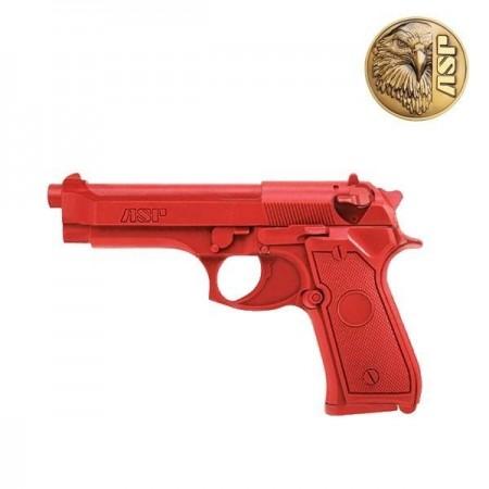 BERETTA RED GUN 92F D'ENTRAINEMENT ASP