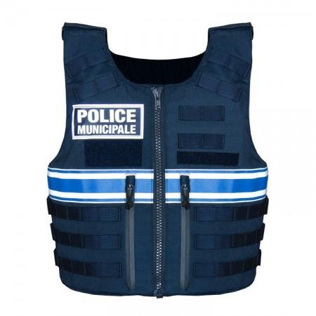 HOUSSE GILET PARE BALLE POLICE MUNICIPALE