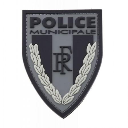ECUSSON DE BRAS POLICE MUNICIPALE BASSE VISIBILITÉ