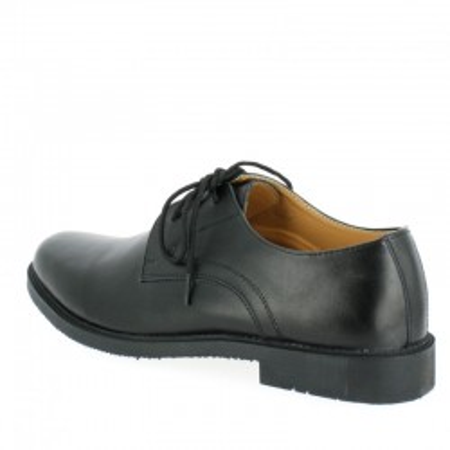 Chaussures de ville en cuir noir Patrol
