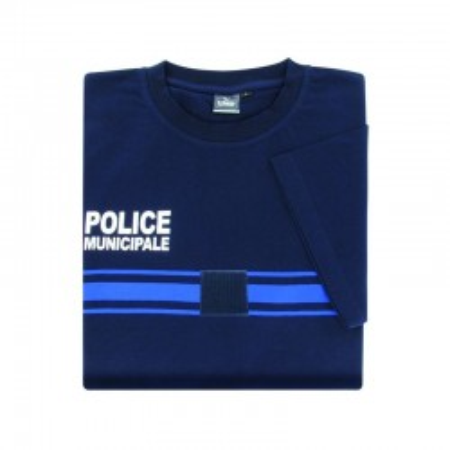 T SHIRT COTON POLICE MUNICIPALE